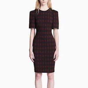 Calvin Klein Plaid Dress